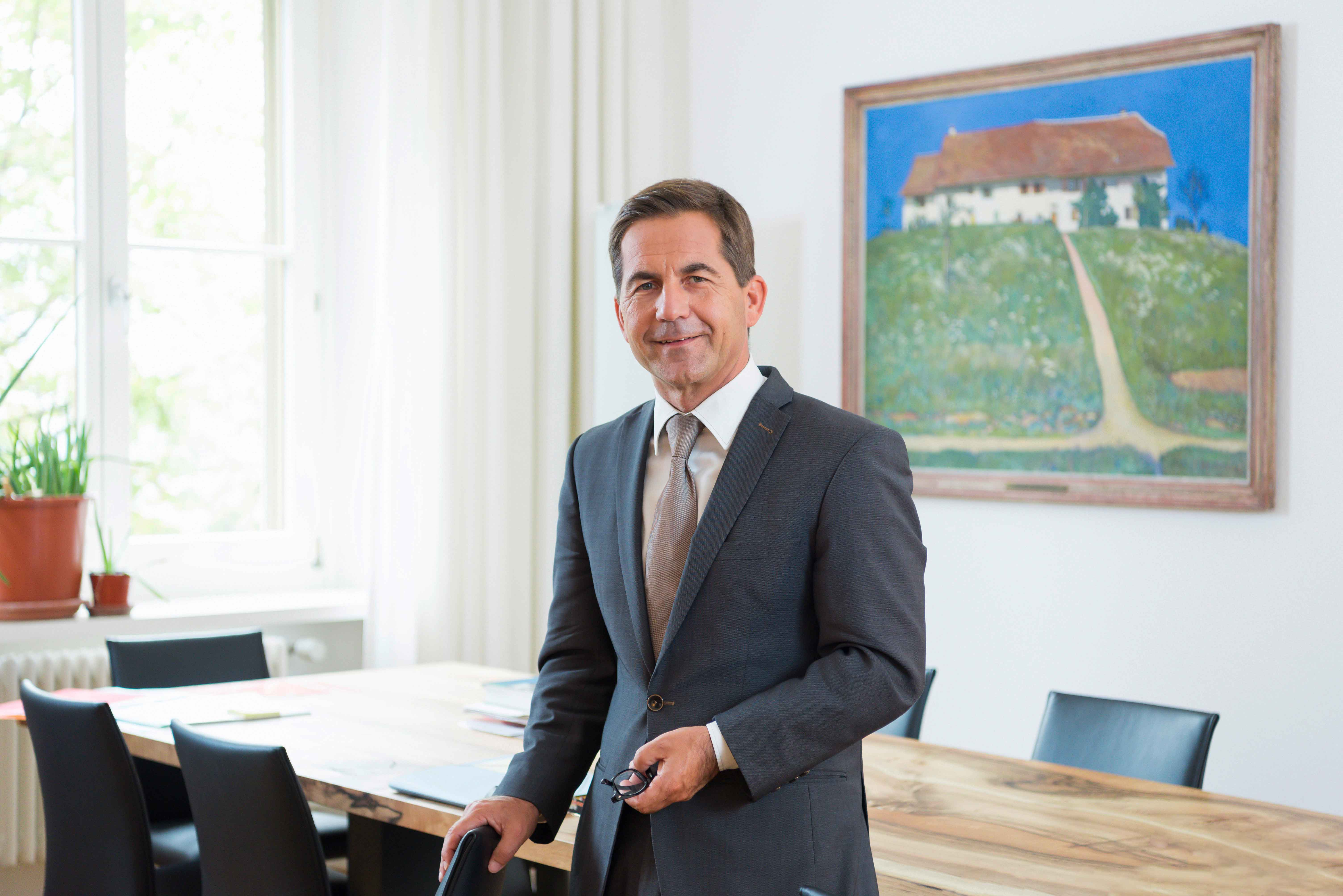 Bundeskanzler Walter Thurnherr